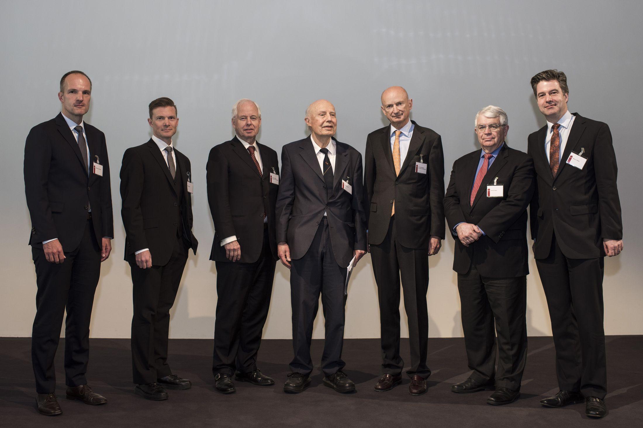 S.D. Prinz Michael von und zu Liechtenstein an der 12. Internationale Gottfried von Haberler Konferenz in Vaduz (Foto: Michael Zanghellini)